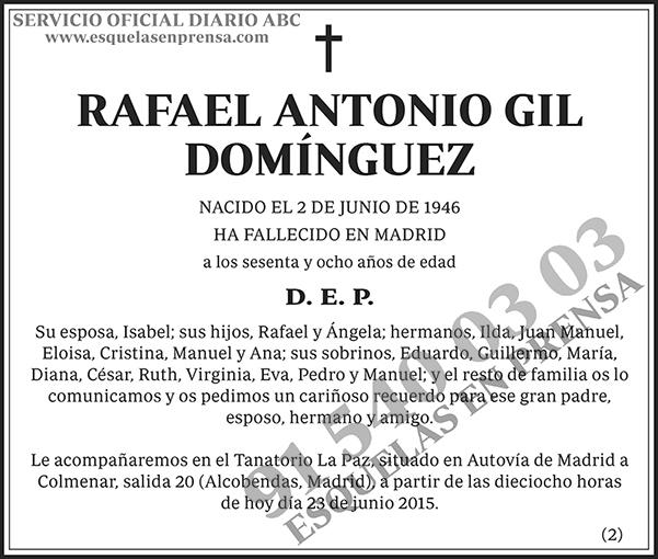 Rafael Antonio Gil Domínguez